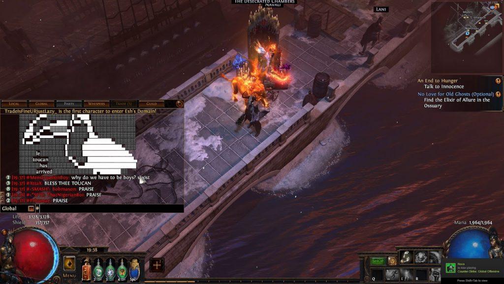 Le Toucan PoE Screenshot