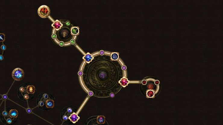 path of exile cluster jewels skill tree delirium