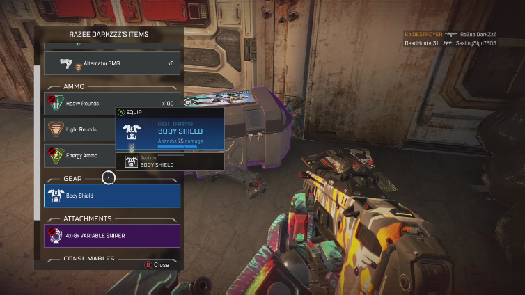 In Apex Legends, equipment colors are used to grade equipment from best to worst, but they can prove to be so much more useful.