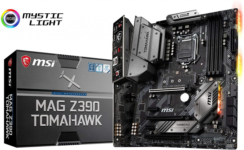"The MSI MAG Z390 Tomahawk combines amazing performance with total affordability to create the ideal ""starting"" motherboard for i9 9900K processors!"