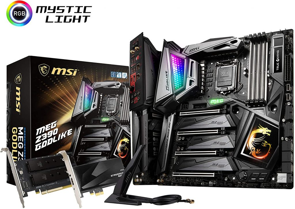 The MSI MEG Z390 GODLIKE is the coolest and most badass high-end motherboard out in 2020!