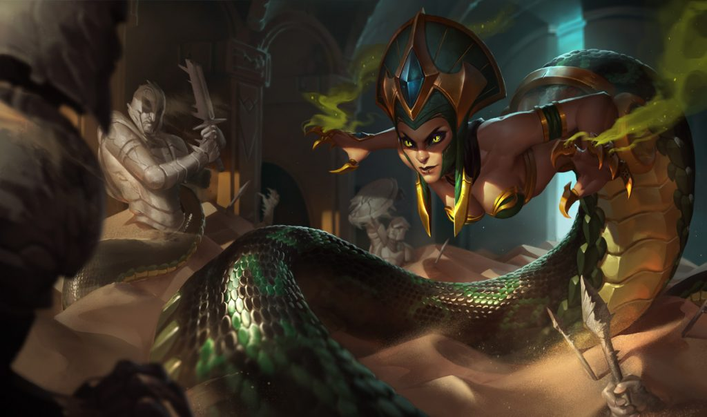 Cassiopeia is one of the oldest mid laners in the game, however don't let her age fool you. She is far from being obsolete - in fact, she is still one of the biggest damage dealers in game.