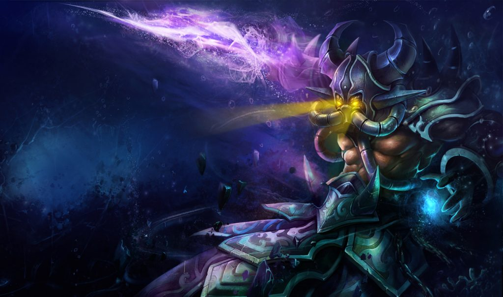 Kassadin is an amazingly mobile mid lane mage assassin that can carry games with ease.