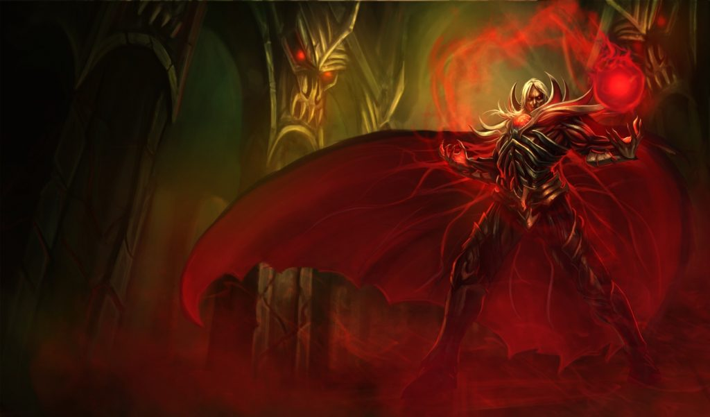Vladimir, the Crimson Reaper is a powerful mage with a uniquely deadly ultimate ability that can help your team dominate team fights with ease.