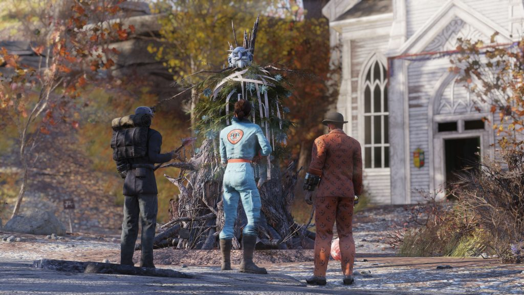 Partying up in Fallout 76 allows you to level quicker without putting in so much effort.