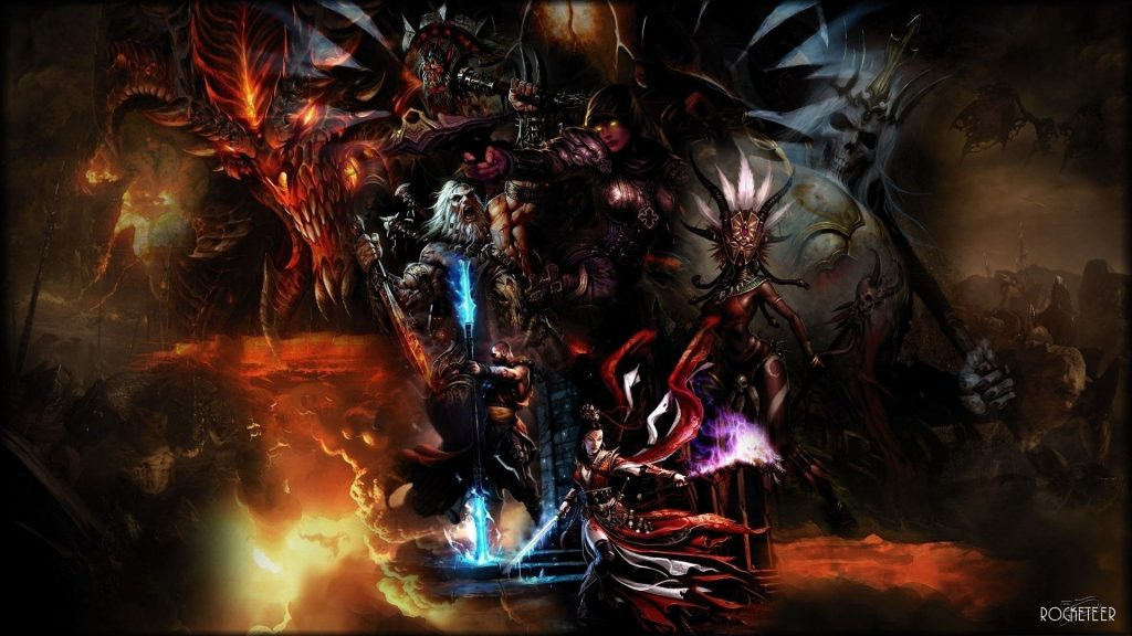 While Diablo 3 may be an older game, it still features some pretty solid graphics that are on-par with Grim Dawn, if not better in some aspects.