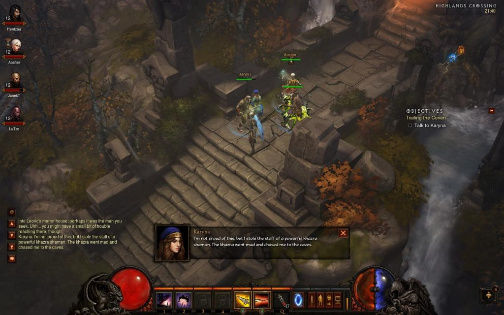 While the lore across the Diablo series is rich and engaging - Diablo 3 delivers a relatively minimal and dry storyline compared to Grim Dawn.