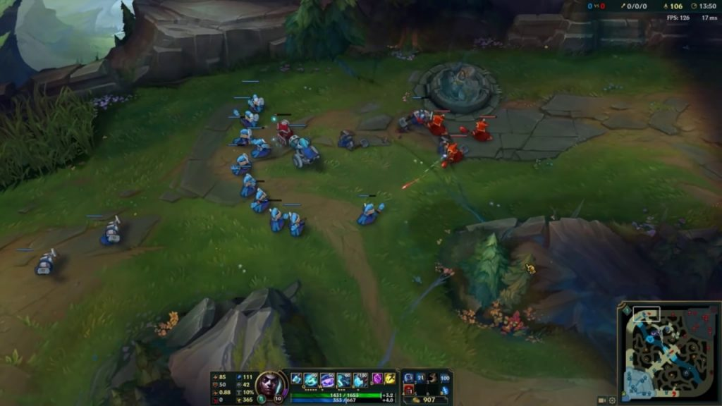 Slow pushing is one of the most effective objective-control mechanics that you can apply in the early stages of your LoL match.