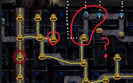 2-path nodes almost always have a 3rd path in PoE.